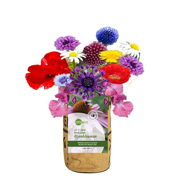 kweektuin bijen bloemen superwaste