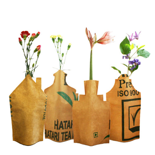 huisjes vaas bottle cover superwaste