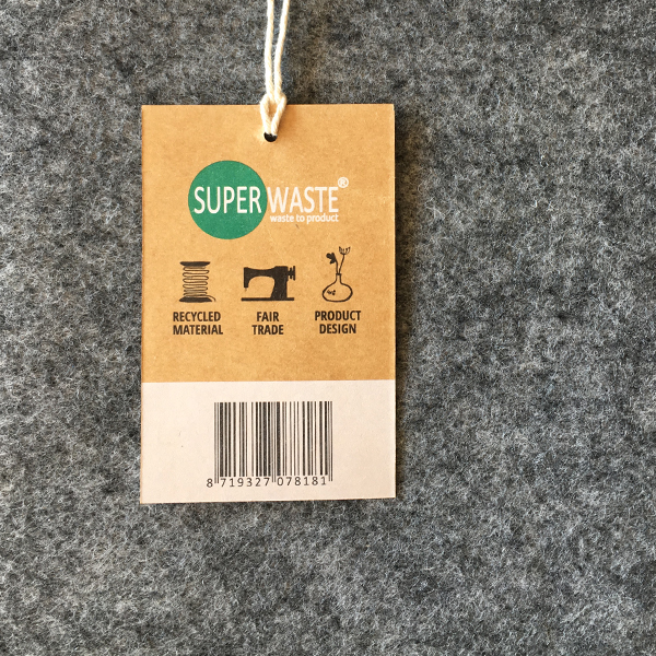 recycled PET shopper superwaste circulair